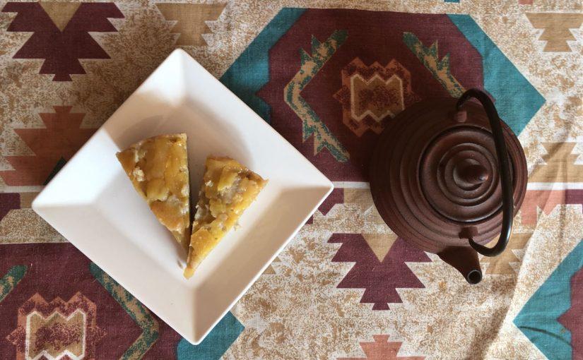 Receta de torta de manzana vegana – Paso a paso