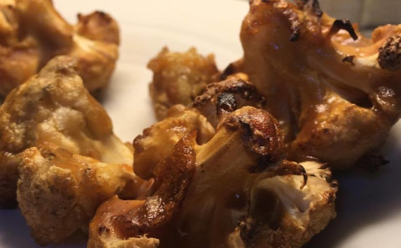 Receta de Coliflor a la BBQ